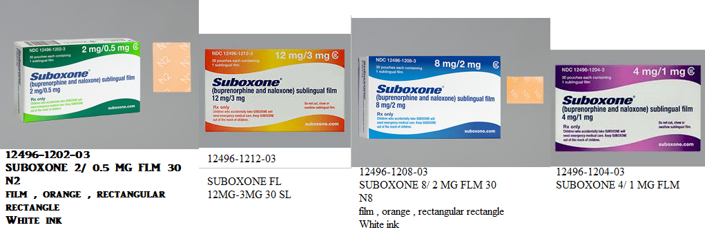 Rx Item-Suboxone 12Mg-3mg Flm 30 By Indivior