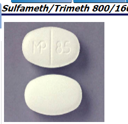 RX ITEM-Sulfamethoxazole-Trimethoprim 800/160Mg Tab 500 By Caraco Pharma