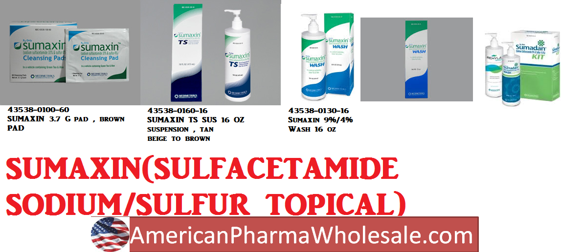 Sumaxin 9%/4% Wash 16 oz by Medimetriks Pharma