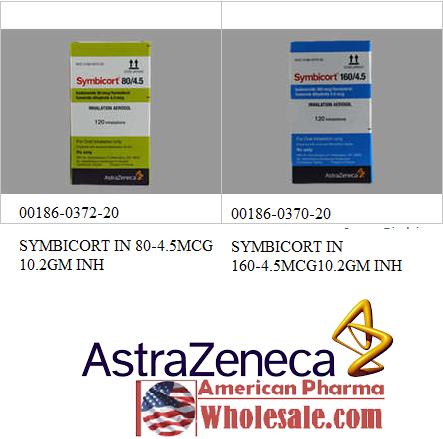 RX ITEM-Symbicort 120 160 4.5Mcg Aer 10.2Gm By Astra Zeneca Pharma