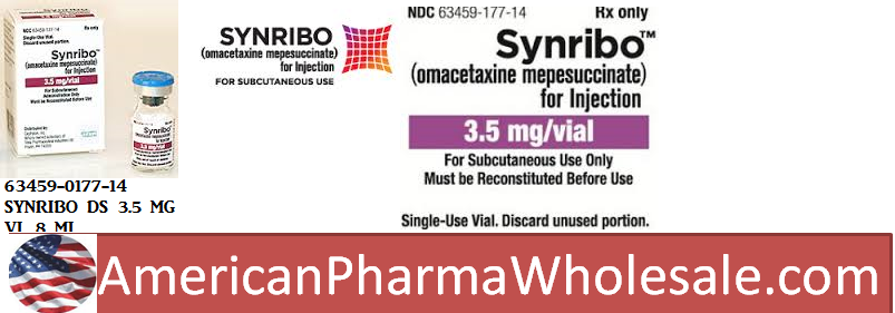 RX ITEM-Synribo 3.5Mg Vial 8Ml By Teva Pharma