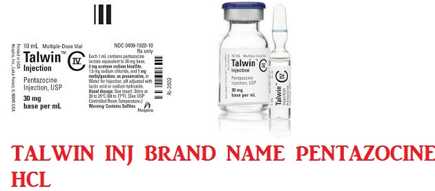 RX ITEM-Talwin 30Mg-Ml Amp 25X1Ml By Hospira Worldwide