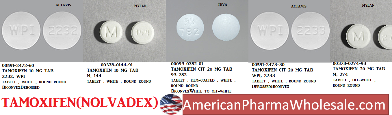 Tamoxifen 10mg Tab 100 by Mckesson Packaging Services