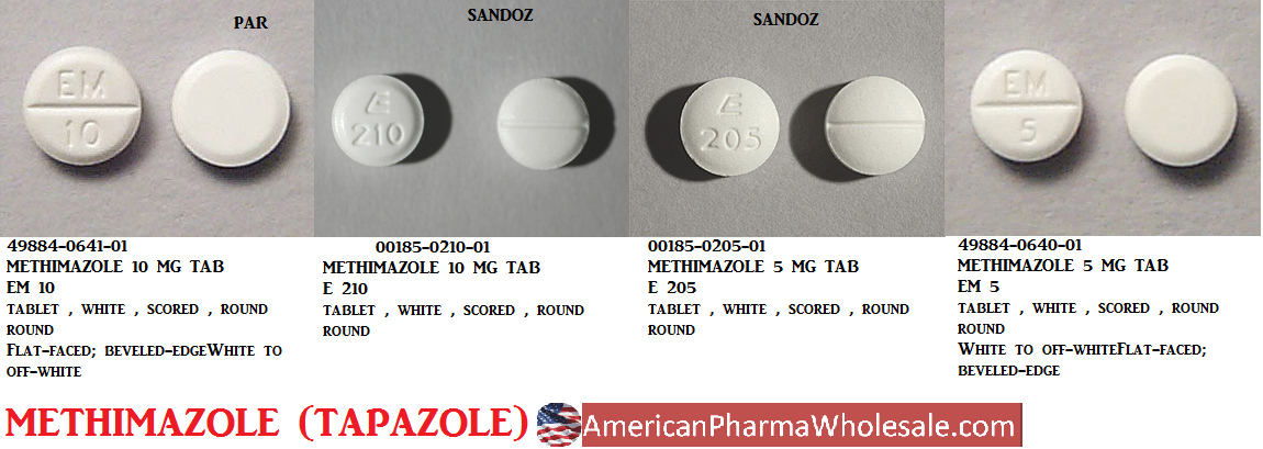 '.Tapazole 5Mg Tab 100 By Pfizer Pharma.'