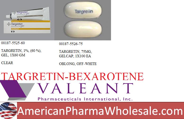 Targretin 1% Gel 60gm by ASD Healthcare