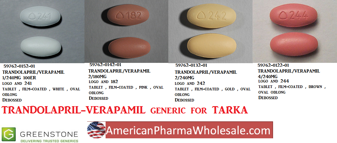 '.Tarka 2 240Mg Tab 100 By Abbvie Pharma.'