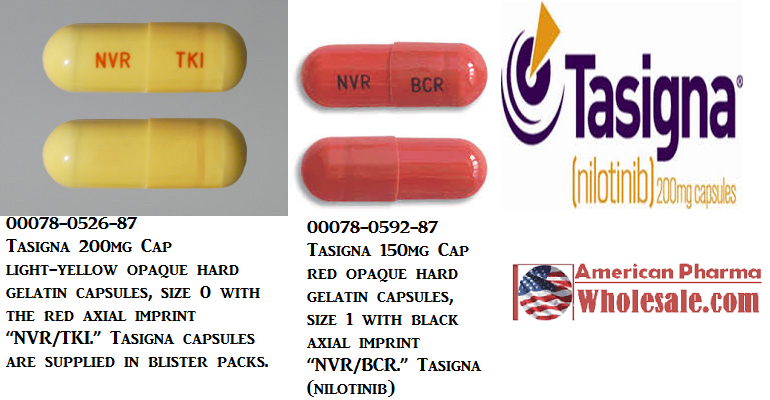 RX ITEM-Tasigna 150Mg Cap 4X28 By ASD Healthcare