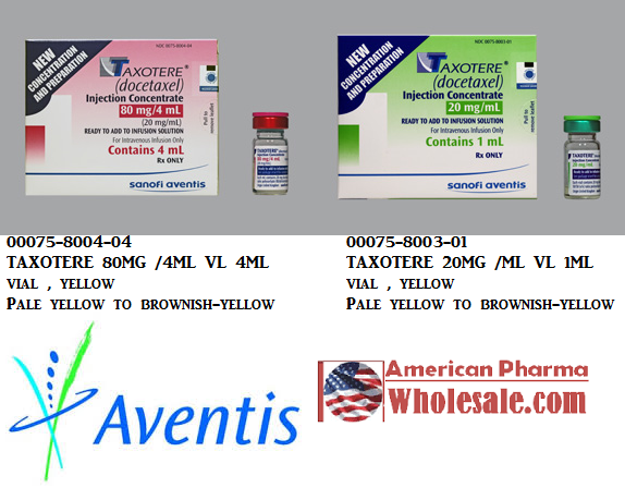 RX ITEM-Taxotere 20Mg/Ml(1) Vial 1Ml By Aventis Pharma