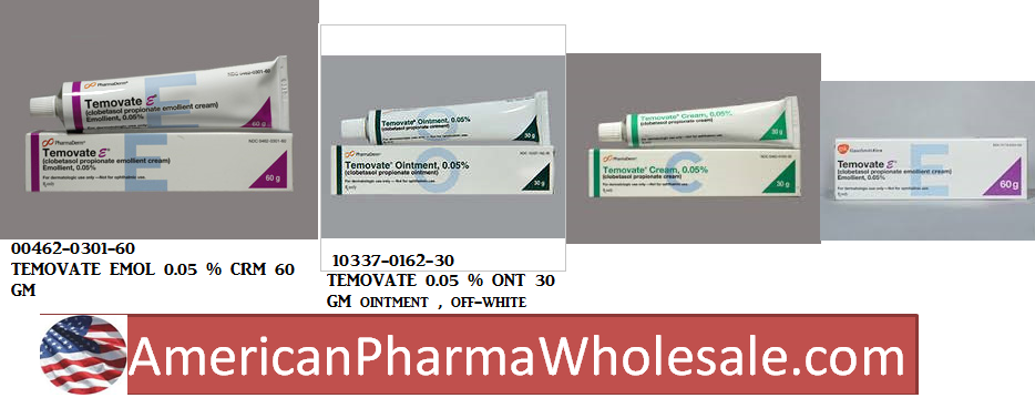 RX ITEM-Temovate 0.05% Cream 60Gm By Pharmaderm