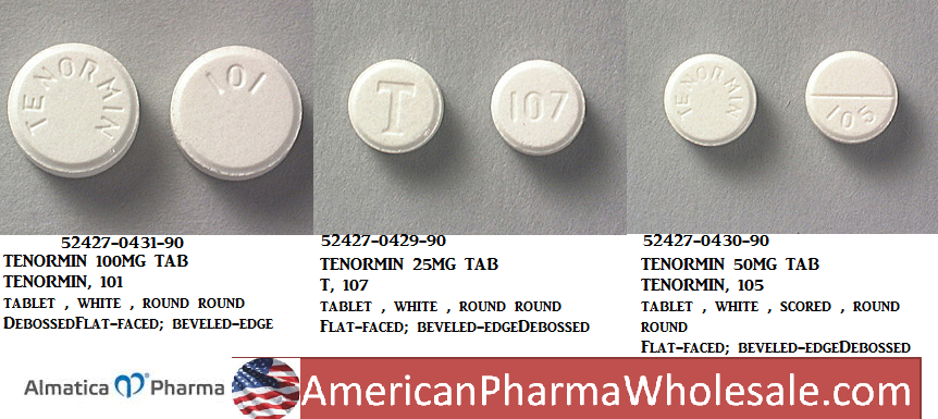 RX ITEM-Tenormin 100Mg Tab 90 By Almatica Pharma
