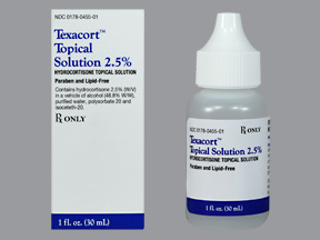 Texacort 2.5% Sol 30ml by Mission Pharmacal