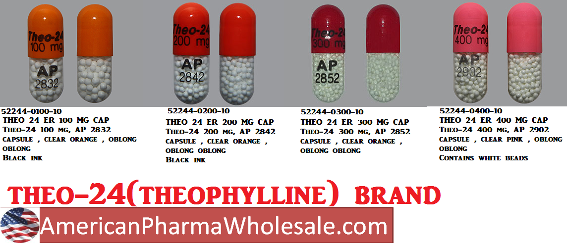 Rx Item-Theo 24 200mg 200mg Cap 100 By Endo Lab