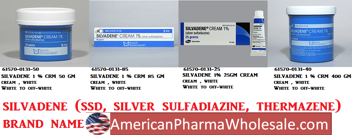 RX ITEM-Silvadene 1% Cream 1000Gm By Pfizer Pharma Inj