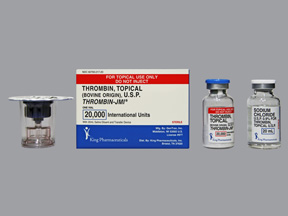 Thrombin-Jmi 20000 Unit Spray by Pfizer Pharma