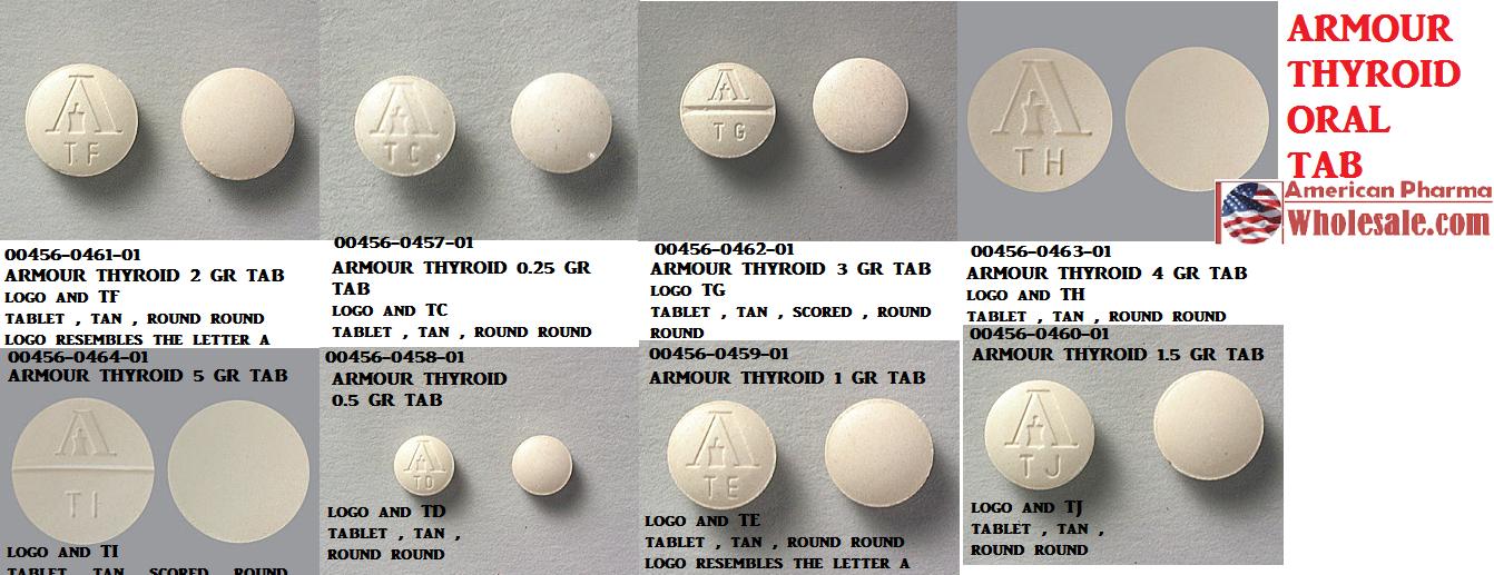Thyroid 100% Usp Pwd 500gm by Medisca