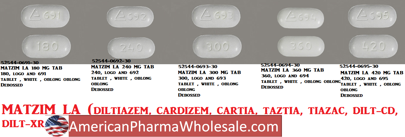 RX ITEM-Matzim La 180Mg Tab 30 By Actavis Pharma