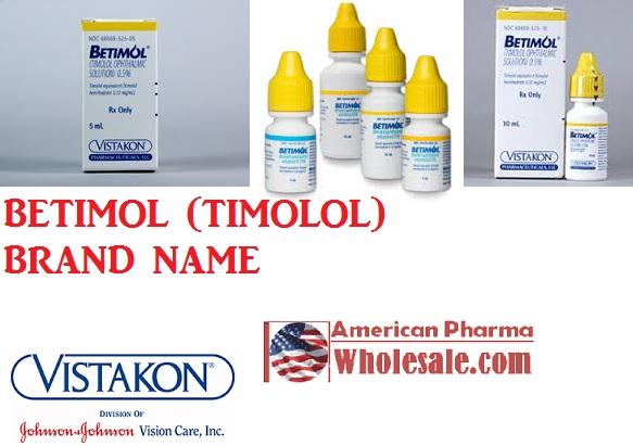 RX ITEM-Betimol 0.25% drops 5ml by Akorn Pharma
