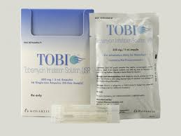 RX ITEM-Tobi Inhalation 300Mg/5Ml Amp 56X5Ml By Novartis