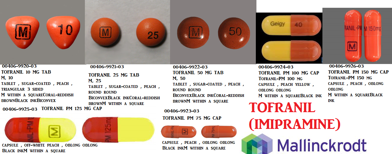 RX ITEM-Tofranil 10Mg Tab 30 By Mallinkrodt Pharma