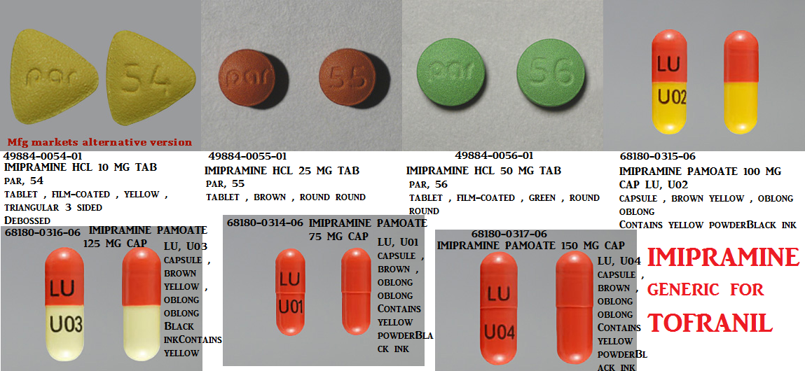 '.Tofranil Pm 100Mg Cap 30 By Mallinkrodt .'