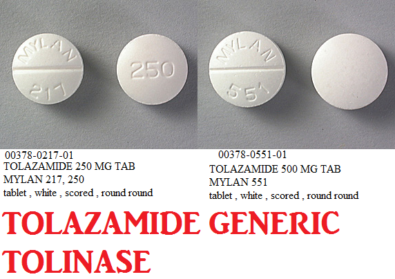 Rx Item-Tolazamide 250mg Tab 100 By Mylan Pharma