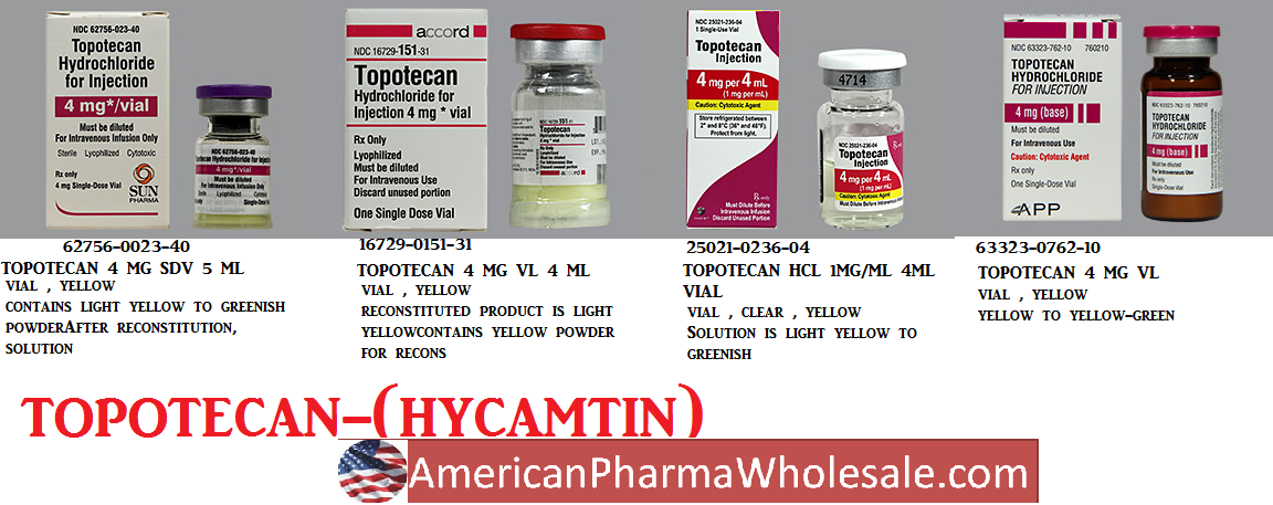 RX ITEM-Topotecan 4Mg 4 Ml Vial 4Ml By Hospira Worldwide