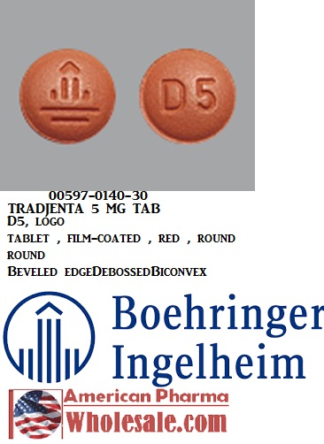RX ITEM-Tradjenta 5Mg Tab 100 By Boehringer Ingelheim