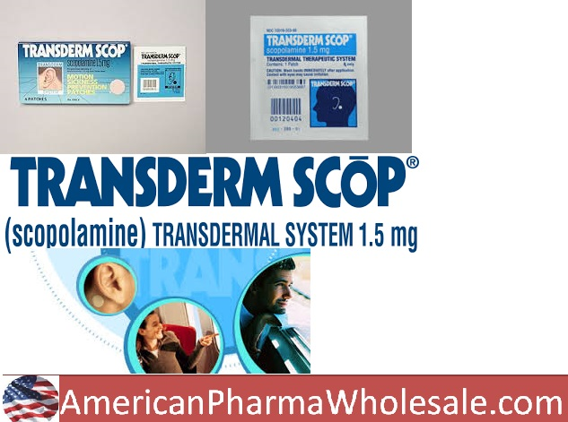 SCOPOLAMINE 1MG/3DAYS Generic Transderm Scop 1.5mg 3Day Pat 10 by Perrigo Pharma