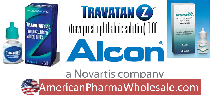 Travatan Z 0.004% drops 2.5ml by Alcon Labs