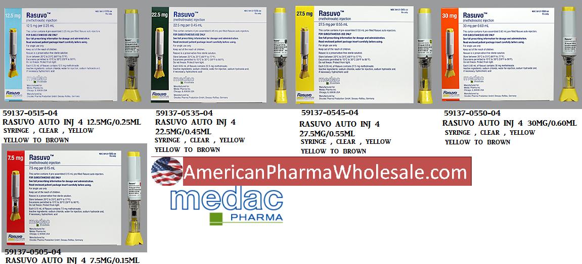 RX ITEM-Rasuvo Auto 20Mg 0.4Ml Inj 4 By Medac Pharma