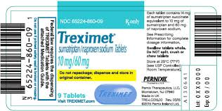 RX ITEM-Treximet 10/60 Mg Tab 9 By Pernix Therapeutics