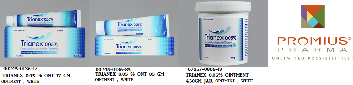 RX ITEM-Trianex 0.05% Ont 17Gm By Upsher Smith Pharma