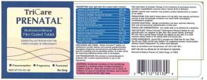 RX ITEM-Tricare Prenatal 27 1 500Mg Cap 30 By Medecor Pharma