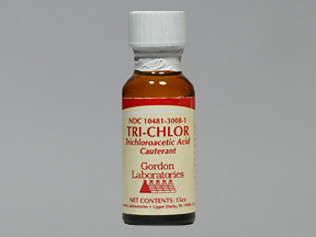 Rx Item-Tri-Chlor 80% Solution 15ml By Gordon Lab