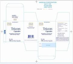 Rx Item-Tricon 110 0.5mg Cap 100 By Nnodum Corp