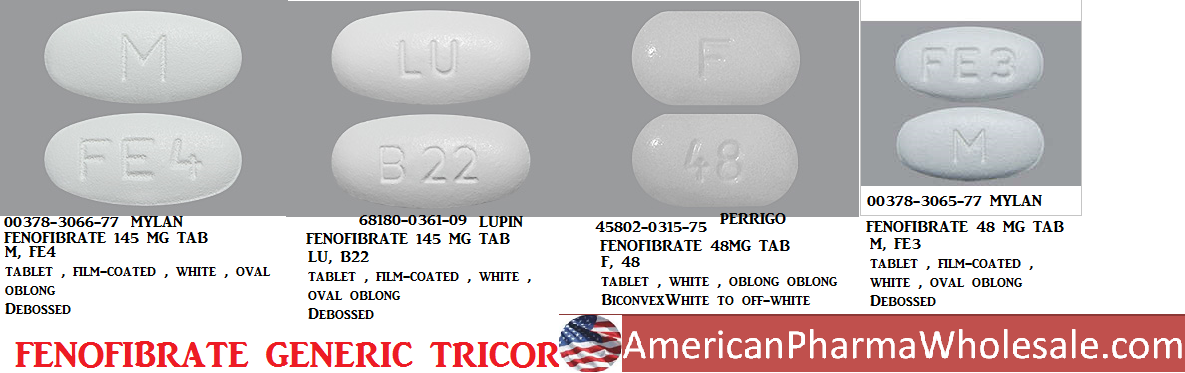 Rx Item-Fenofibrate 145mg Tab 30 By American Health Packaging