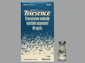 RX ITEM-Triesence 40Mg/Ml Vial 1Ml By Alcon Lab