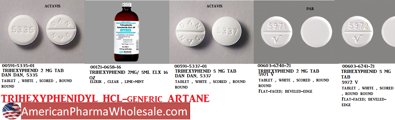 RX ITEM-Trihexyphenidyl 2Mg 5 Ml Elixir  473Ml By Akorn Pharma