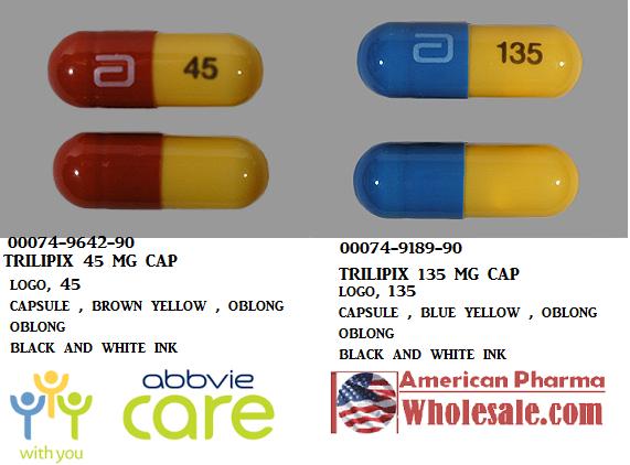 Trilipix 45mg Cap 90 by Abbvie Pharma