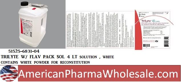 RX ITEM-Trilyte W- 420G Solution 4Lt By Wallace Pharma