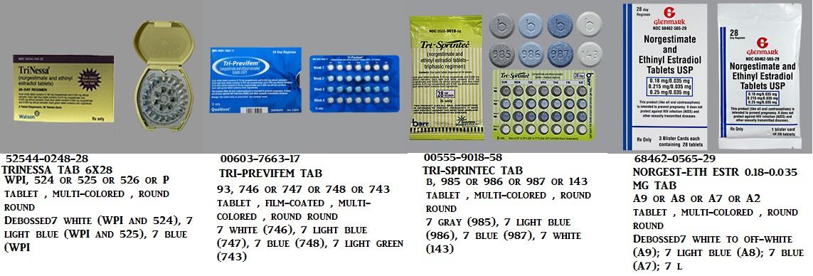 RX ITEM-Tri-Previfem 7Daysx3 28 Tab 6X28 By Qualitest Pharma