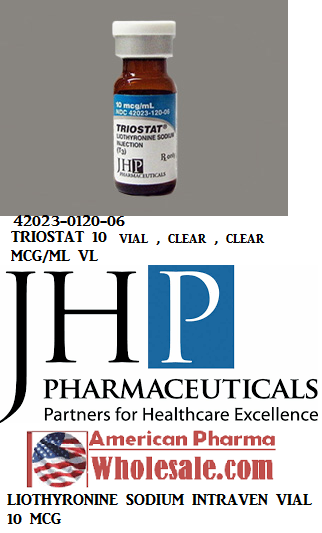 RX ITEM-Triostat 10 Mcg/Ml Vial 6X1Ml By JHP Pharma