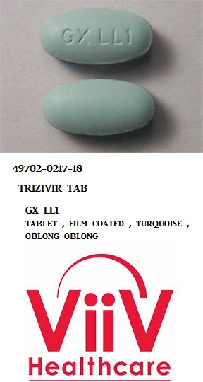 RX ITEM-Trizivir 150 300Mg Tab 60 By Viiv Healthcare