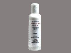 Rx Item-Tropazone Lotion 140gm By Valeant Pharma