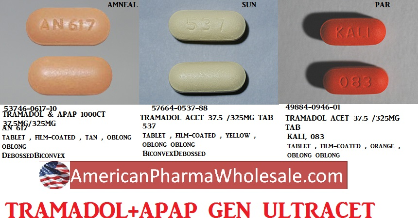 Tramadol Hcl 37.5-325mg Tab 100 by American Health Packaging
