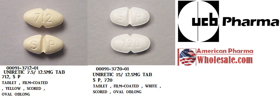 '.Moexipril-Hct 7.5 12.5Mg Tab 100 By Glen.'