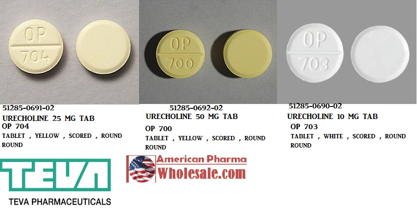RX ITEM-Bethanechol 10mg Tab 100 by Rising Pharma