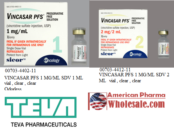 '.Vincristine 1Mg/Ml Vial 1Ml By Hospira W.'