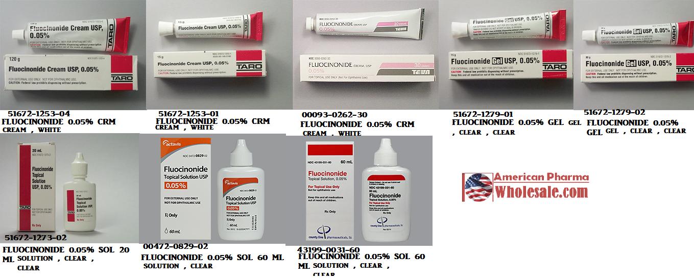 RX ITEM-Fluocinonide 0.05% Cream 120Gm By Taro Pharma