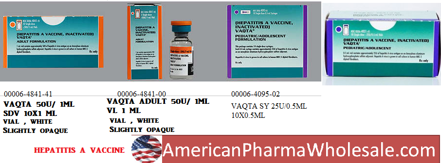 RX ITEM-Vaqta 25 Hepatitis A Hep A 0.5Ml Vial 10X0.5Ml By Merck